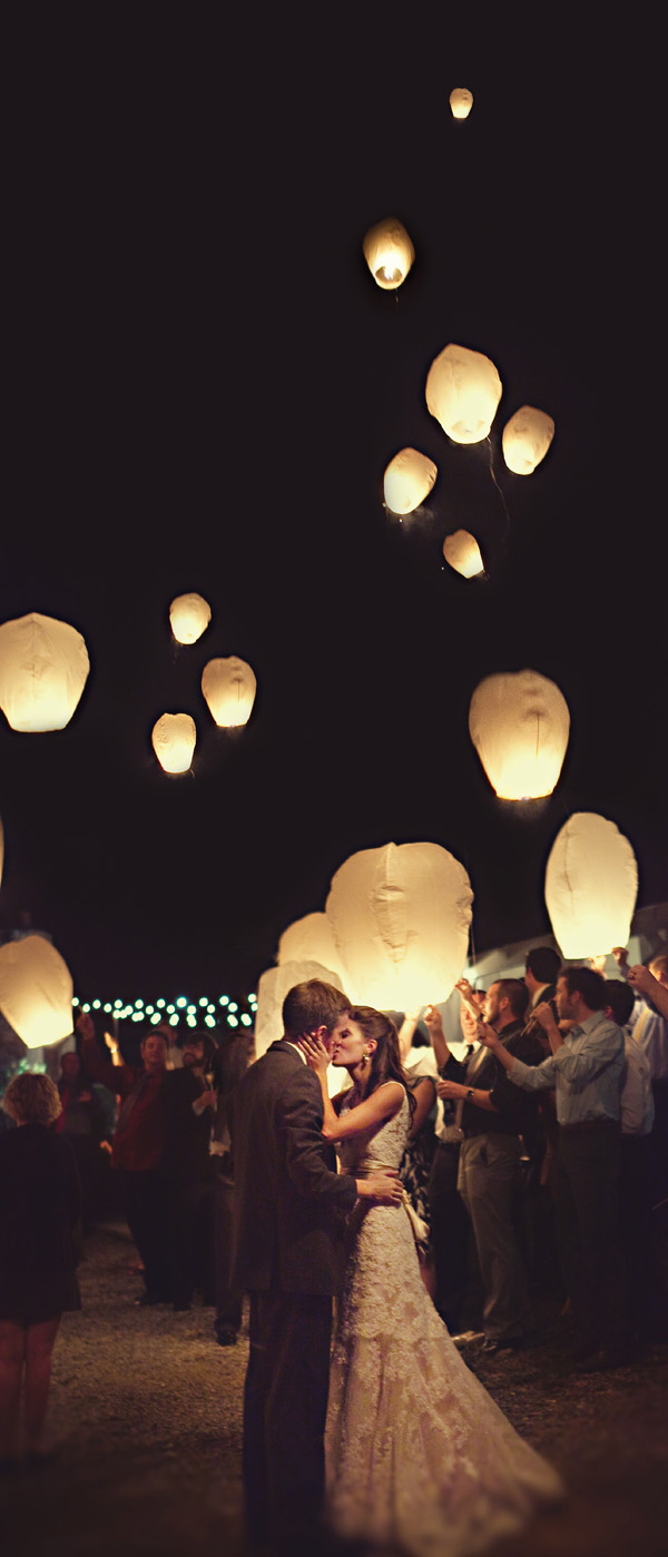 Make A Statement With Your Exit Chinese Wish Lanterns