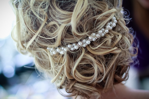 bride's hair pin