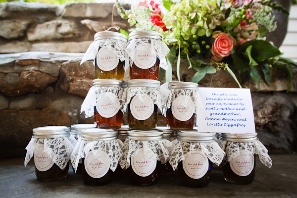 preserves wedding favors