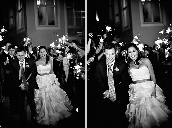 Bride and Groom Exit